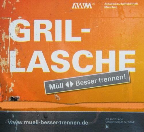 Bild: Die Gril-Lasche