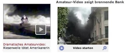 Bild: Dramatisches Video
